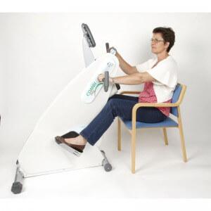 LEMCO Combi Bike arm leg trainer for wheelchair users