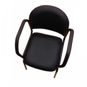 Chaise pour senior unique. Pivote et siege glisse a la table.