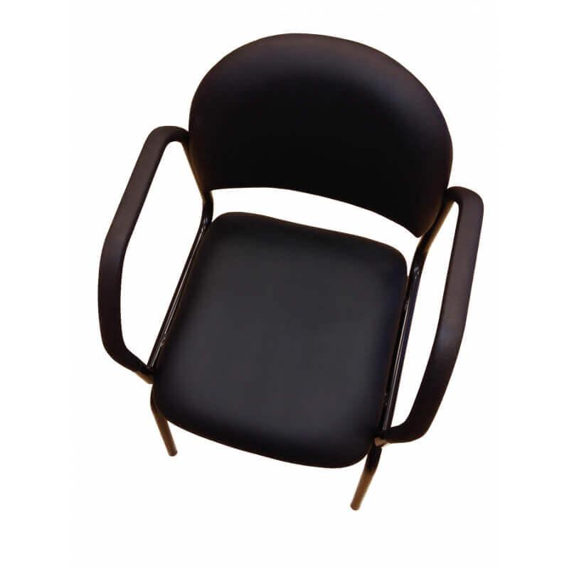 LEMCO SmartStol - Seniorvenlig stol med armlæn der hjælper dig ind til bordet. Aflaster pårørende.