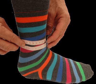 Sådan måler du omkredsen af foden til et dictus bånd
