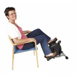 motionscykel til ældre til brug fra stol. Kaldet pedaltræner eller sofacykel