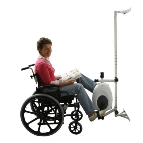 Siddemotionscykel til kørestol