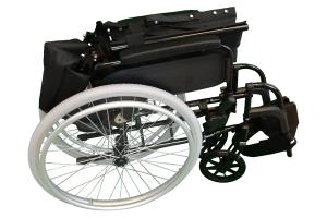 transportkørestol let og sammenklappelig