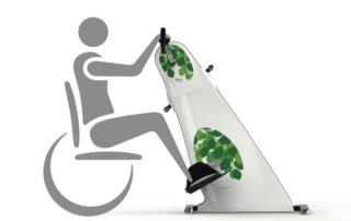 Combi Bike Plus Motionscykel Kørestol