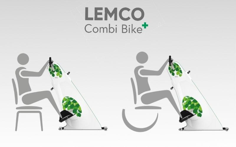 Wheelchair-Wheelchair Training bike