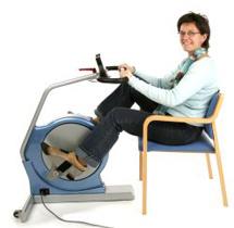 Elektrisk træningscykel til bevægelses handicappede / Bentræner til handicappede