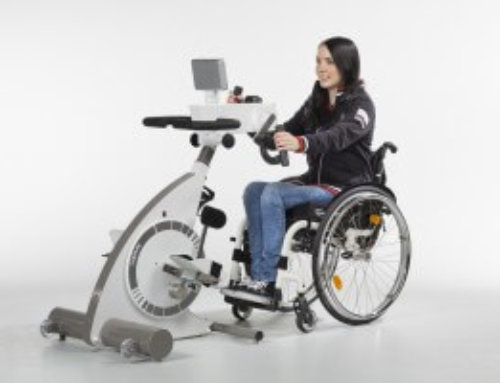 Træningscykel med hjælpe motor