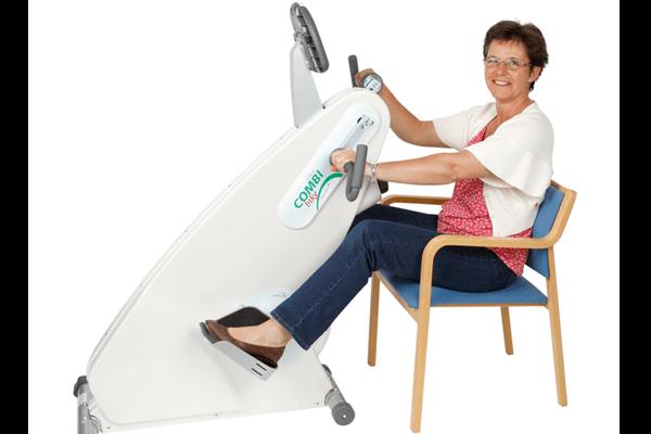 Udgået trænnigscykel til kørestol