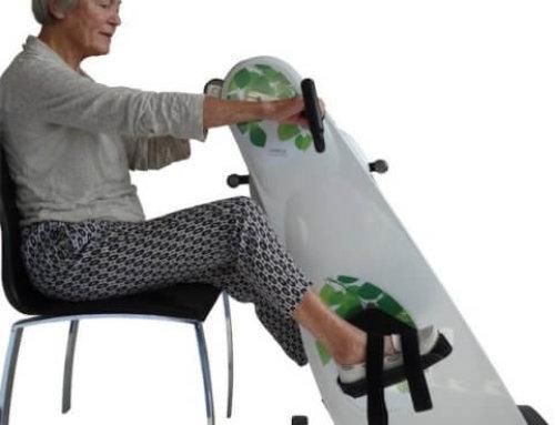 Efter knæoperation skal knæet genoptrænes