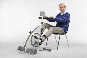 Træningscykel med motor til handicappede