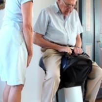 JOBA El-ridesaddel til træning for handicappede
