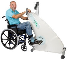 Combi Trainer for wheelchair