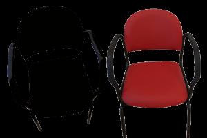 stol til ældre - hjælper ind til bordet