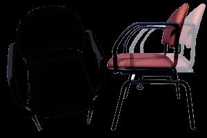 Smartstol-i-sort-og-mørlkerøde