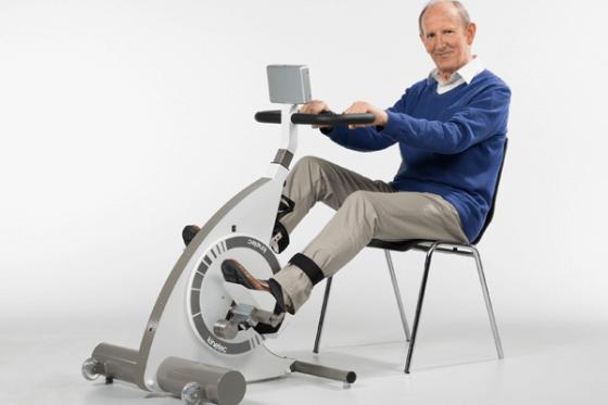 Muskelvind - Træning med motor giver mennesker med muskelsvind mulighed for at træne