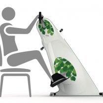 Træningscykel til brug fra kørestol
