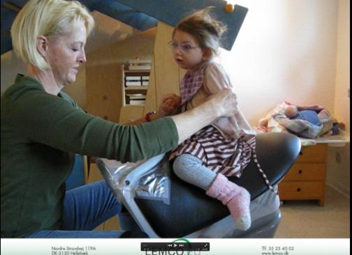JOBA ridetræning for børn med handicap