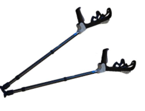 Information om den ergonomiske krykke – let og aflaster hænder og skuldre