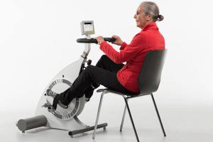 Motionscykel med motor