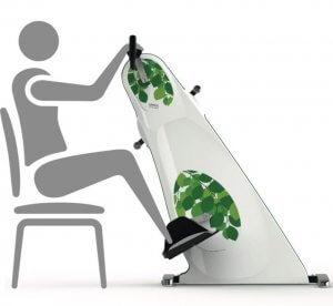 Motionscykel til ældre som kan bruges fra stol