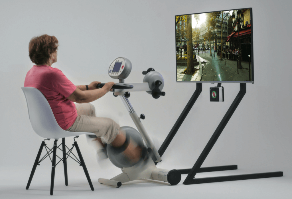Aktivitetscykling til svage ældre på plejehjem