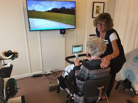Breelteparken video til træningscykler