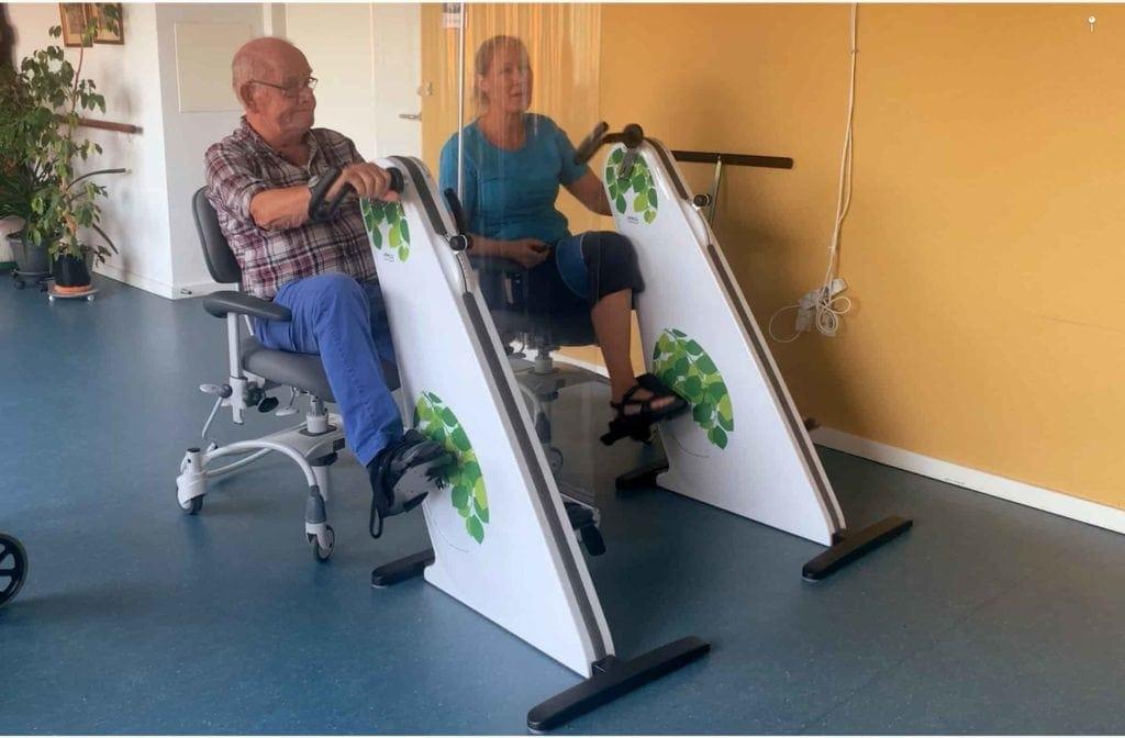 VR Cykling til plejehjem