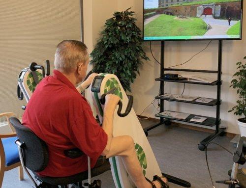 Videoture til plejehjem på video til motionscykler