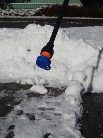 FlexyFoot ispig dupsko til krykke til brug ved is, sne og frostvejr.