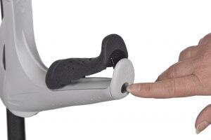 Albuestok med blødt håndtag