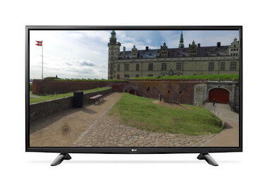 LG 49 tv til videorehab