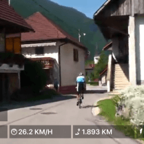 Kinomap - Cykling med video over 100.000 kilometer ruter
