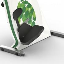 Manuped med specialpedaler med hælkappe designet til at blive brugt fra kørestol