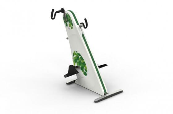 Motionscykel til kørestol - Dansk produceret manuped til handicappede