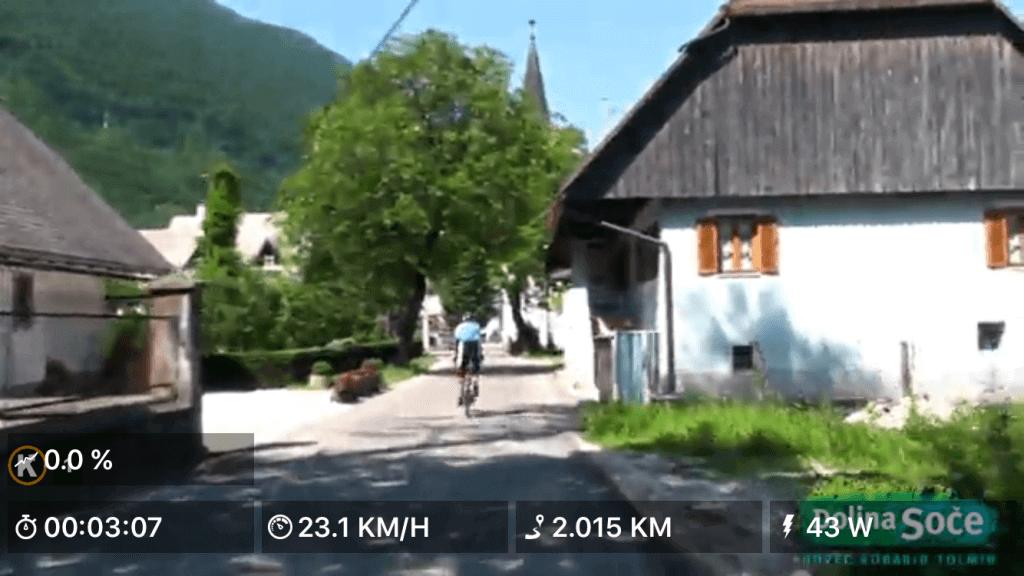 Cykelture på video