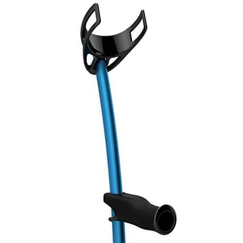 Krykke i blåt design