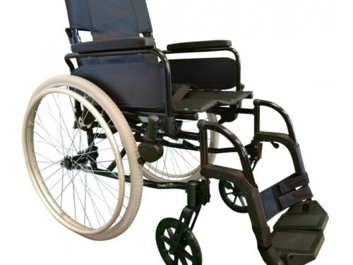 Transportkørestol let og handy