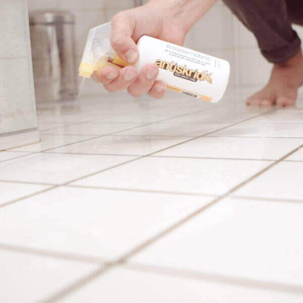 Antiskrid - Skridsikrer glatte gulve