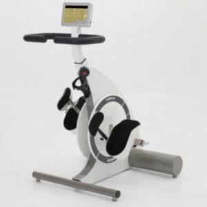 Spasmeknuser træningscykel til kørestolsbrugere med hjælpemotor