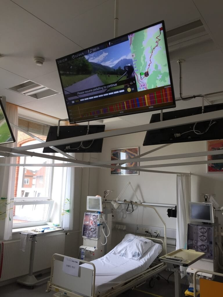 Dialysecykel videoture