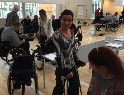 Paraplegi – Test af krykstokke