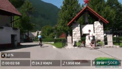 Videoture streamet via internettet til motionscykler