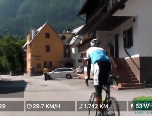 Cykelture på video til motionscykler