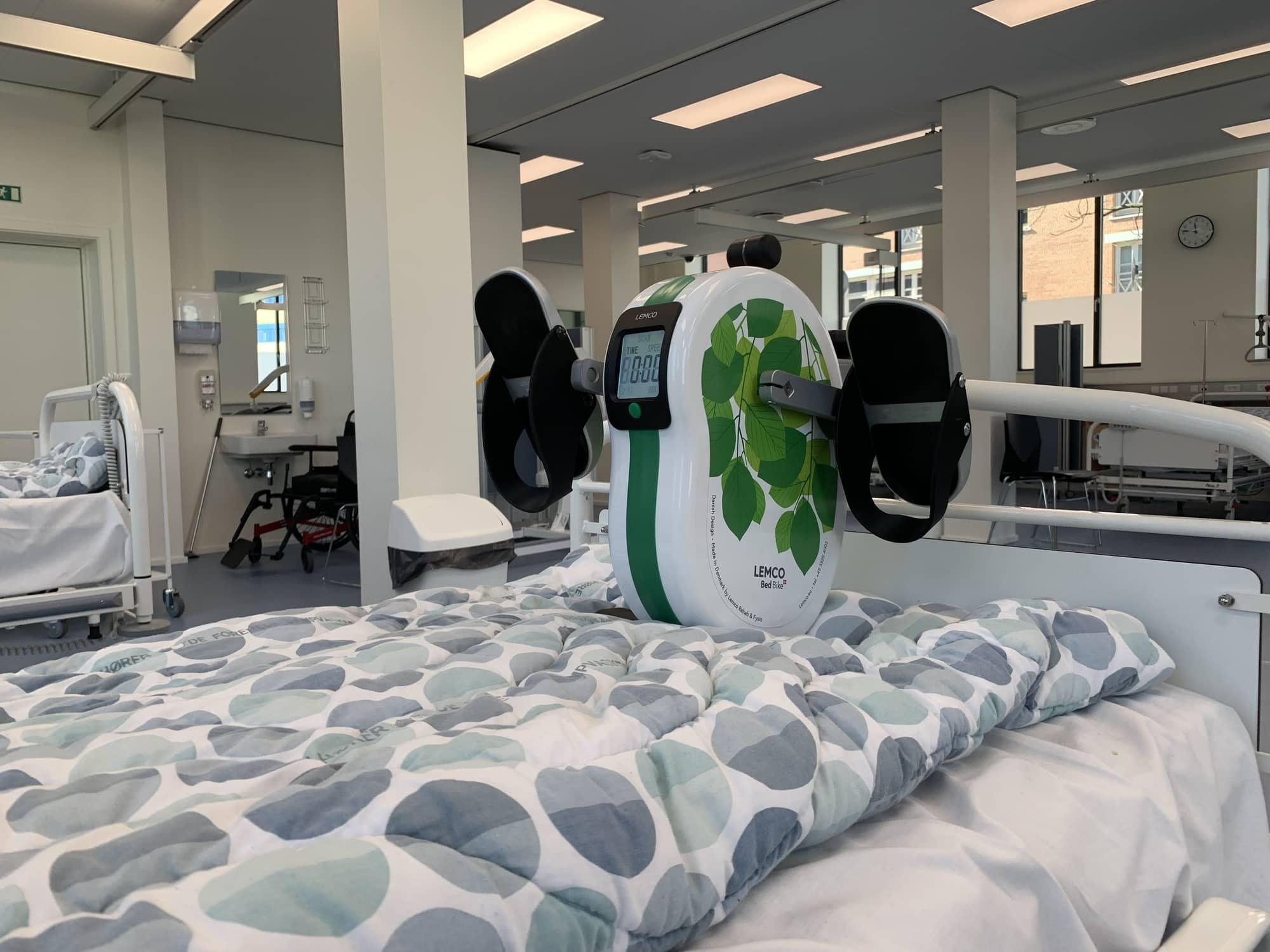 Bed Exerciser / Bed Pedal Exerciser for hospital beds.
