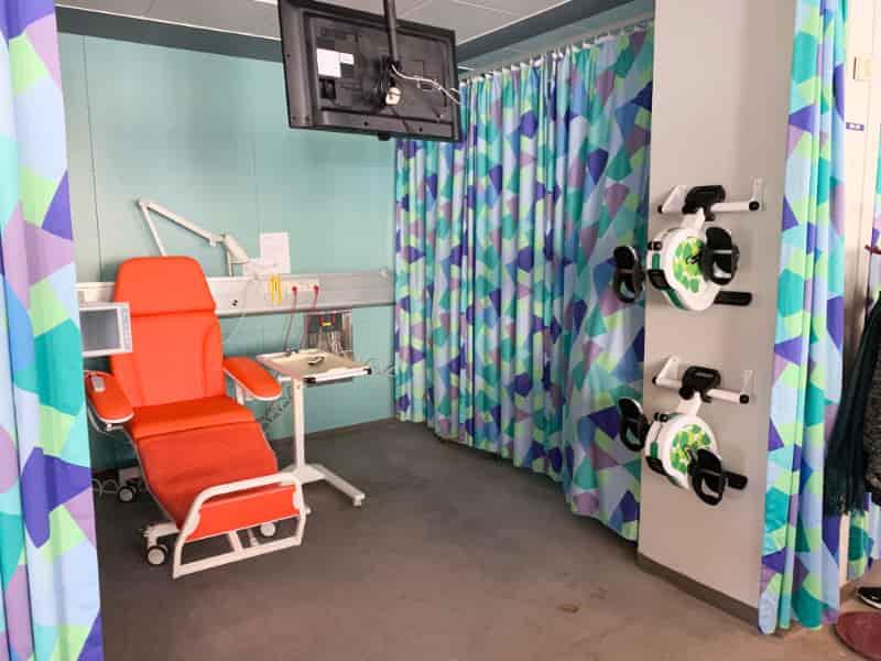 Sengecykel på hospital