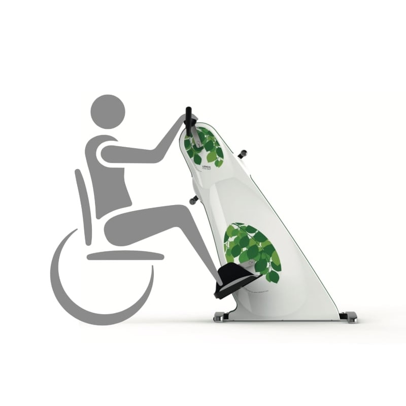 Combi-Bike-Plus Exerciser for wheelchair