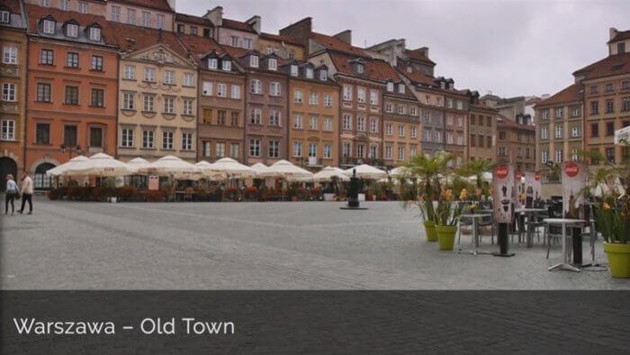 DK-V8-Warszawa - Old Town