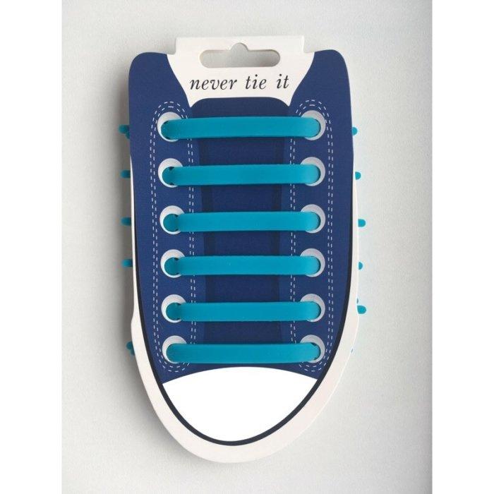 silicone-snørebånd-blå-lemco-webshop