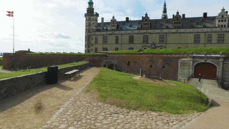 Aktivitetscykling med video Danmark Kronborg-3