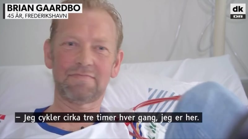 Dialysecykling med video